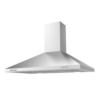 Stainless Steel Tapered Canopy Rangehood - 900mm