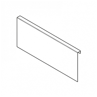 AMBIA-LINE chipboard back adapter for LEGRABOX drawer