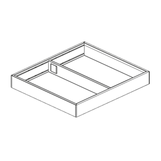 AMBIA-LINE  frame for LEGRABOX drawer
