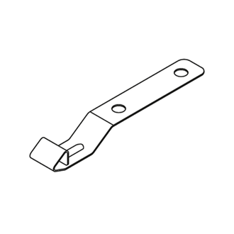 TIP-ON BLUMOTION synchronisation shaft holder steel Required for cabinet widths