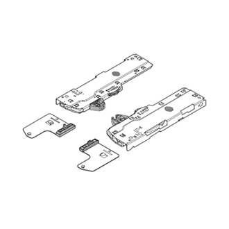 TIP-ON BLUMOTION set (Unit + latch) for LEGRABOX/MOVENTO