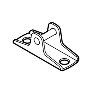 AVENTOS HK-XS stay lift front fixing bracket for wooden fronts