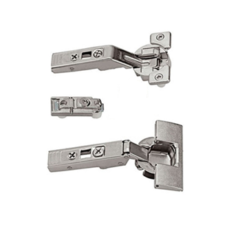 CLIP top centre hinge for AVENTOS bi-fold lift systems 134 Degree (set) unsprung boss: knock-in