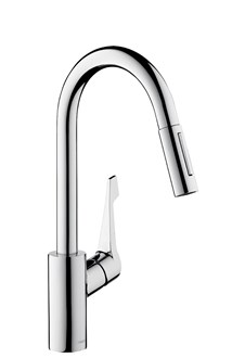Hansgrohe Centro Pull Out Spray Mixer