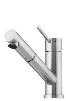 Essente Stainless Steel Swivel Pull Out Mixer