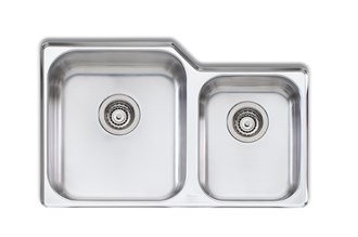 Oliveri Nu-Petite 1 & 3/4 Bowl Undermount Sink